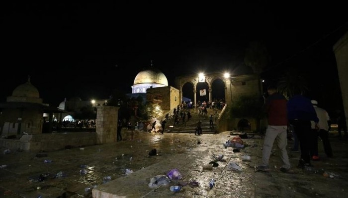 دول عربية وتركيا ومنظمات وهيئات تدين اعتداءات إسرائيل بالأقصى