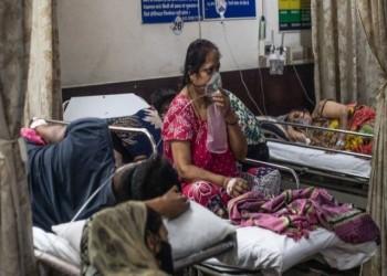 أكبر فورة وبائية في العالم.. الهند تسجل أكثر من 4 آلاف وفاة في 24 ساعة