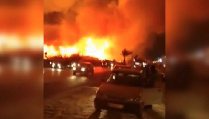 اندلاع حريق في منطقة قريبة من مفاعل بوشهر الإيراني