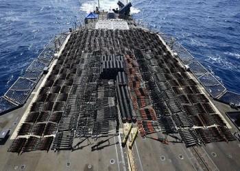 الجيش الأمريكي يصادر شحنة أسلحة مجهولة المصدر ببحر العرب