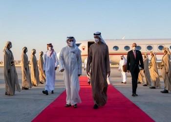 ولي عهد البحرين يصل إلى الإمارات.. وممر صحي آمن بين البلدين