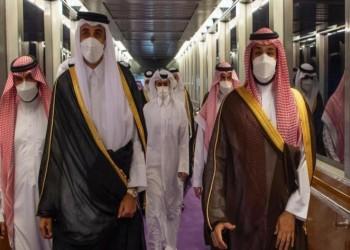 بن سلمان في استقباله.. الشيخ تميم يصل إلى السعودية لأول مرة منذ المصالحة
