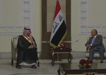 نائب وزير الدفاع السعودي في بغداد.. ويلتقي الكاظمي وصالح