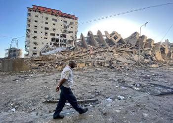 إسرائيل تدمر بالكامل مبنى ملاصقا لمقر السفير القطري