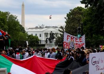 بمشاركة الآلاف.. مسيرة تجوب شوارع واشنطن دعما لفلسطين