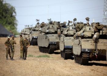 التصعيد مستمر.. إسرائيل تحشد قوات برية كبيرة على حدود غزة