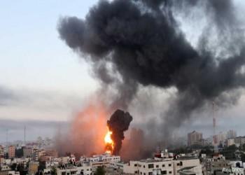 وفدان مصريان يصلان غزة وإسرائيل.. وبوارج بحرية تشارك في القصف