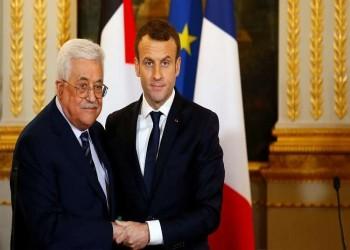 عباس وماكرون يبحثان تطورات الأحداث في القدس وغزة والضفة