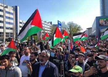 مظاهرات العيد.. احتجاجات بمدن عربية وعالمية ضد عدوان إسرائيل على القدس وغزة