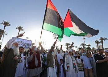 ليبيا.. مظاهرات متتالية دعما للفلسطينيين وغزة في طرابلس