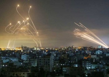 الجيش الإسرائيلي: رصدنا إطلاق 200 قذيفة من غزة خلال 24 ساعة