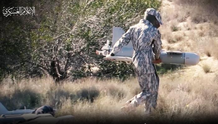 القسام تستهدف موقعا عسكريا إسرائيليا بطائرة شهاب