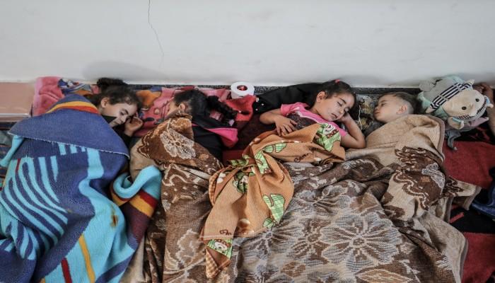 10 آلاف فلسطيني يهجرون منازلهم في غزة جراء العدوان الإسرائيلي