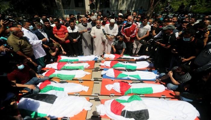145 شهيدا و1100 مصاب خلال 6 أيام من القصف الإسرائيلي