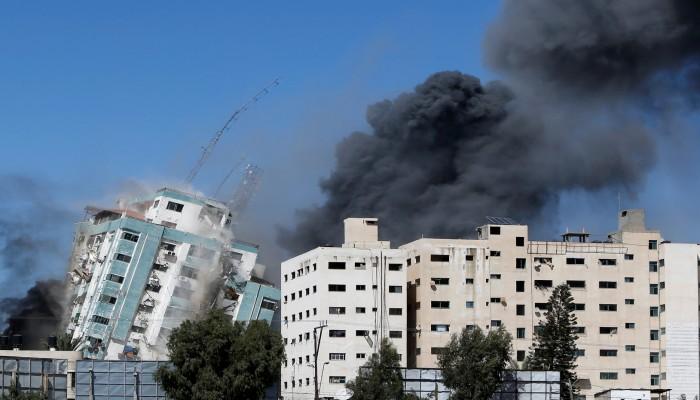 أمين عام الأمم المتحدة منزعج من تدمير إسرائيل برج الجلاء في غزة