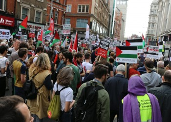 دعما للفلسطينيين.. مظاهرات شعبية في عدة مدن أمريكية