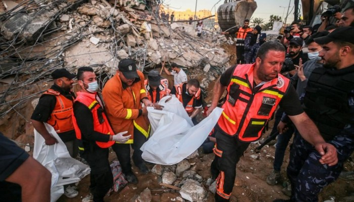 ارتفاع حصيلة شهداء العدوان الإسرائيلي على قطاع غزة إلى 174