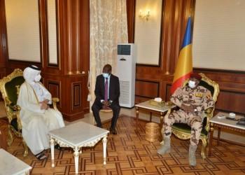 مسؤول قطري بارز في تشاد بعد شهر من مقتل رئيسها
