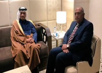 قطر ومصر تبحثان تطورات الأوضاع في فلسطين