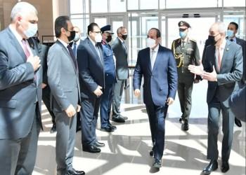 باريس.. السيسي يبحث تعزيز التعاون مع رئيس الشركة المصنعة للرافال
