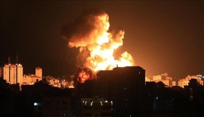 غارات إسرائيلية عنيفة على غزة والمقاومة تقصف بئر السبع وعسقلان