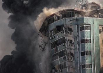 خبراء عسكريون يكشفون نوعية القنابل المستخدمة في تدمير برج الجلاء