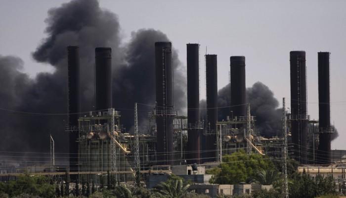 كهرباء غزة: محطة توليد الطاقة ستتوقف عن العمل خلال 3 أيام