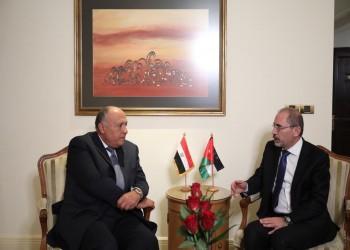 شكري يزور عمان.. مباحثات مصرية أردنية حول تسوية شاملة في فلسطين