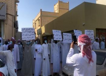 احتجاجات العاطلين والمسرحين في عمان تدخل يومها الثالث
