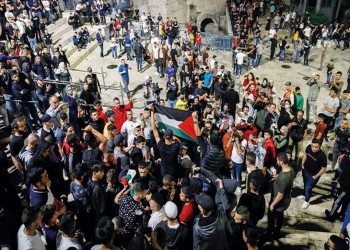 انتفاضة فلسطين  وميزان القوى