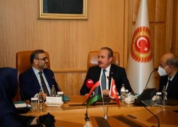 المشري يبحث في أنقرة تطوير العلاقات التركية الليبية