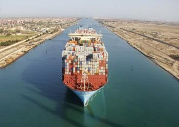 تعرض سفينة حاويات لحادث في قناة السويس
