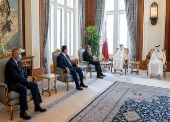 الشيخ تميم والمشيشي يبحثان تعزيز العلاقات الثنائية وقضايا إقليمية