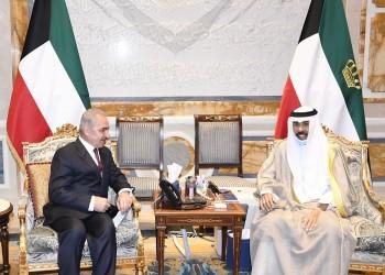 خلال لقائه اشتية.. الشيخ نواف يؤكد أولوية القضية الفلسطينية للكويت