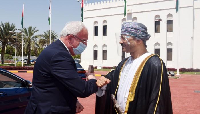 البوسعيدي والمالكي يبحثان تطورات الأوضاع في فلسطين