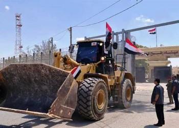 مصر تدخل معدات ثقيلة إلى غزة لإزالة ركام العدوان الإسرائيلي