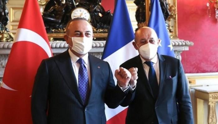 مباحثات تركية فرنسية في باريس بعد أشهر من التوتر
