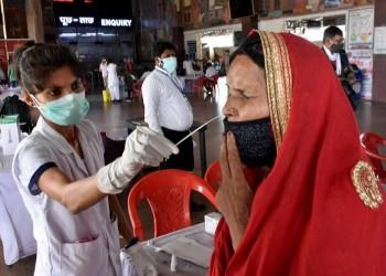 أدنى حصيلة خلال شهرين.. الهند تسجل نحو 86 ألف إصابة بكورونا