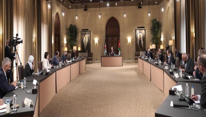 الملك عبدالله الثاني يدعو إلى حوار من أجل مصلحة الأردن