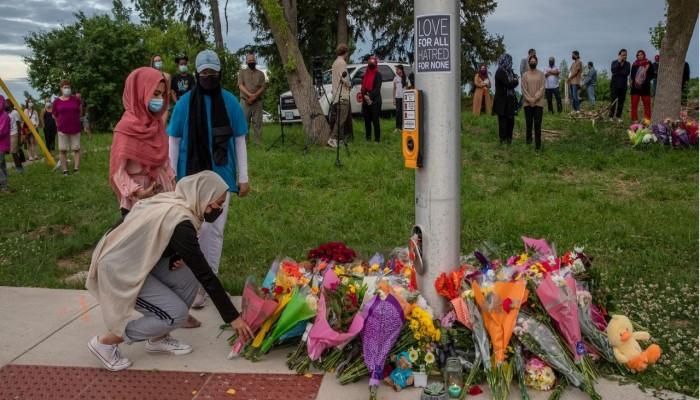 رئيس وزراء كندا ينضم لوقفة احتجاجية على مقتل أسرة مسلمة دهسا