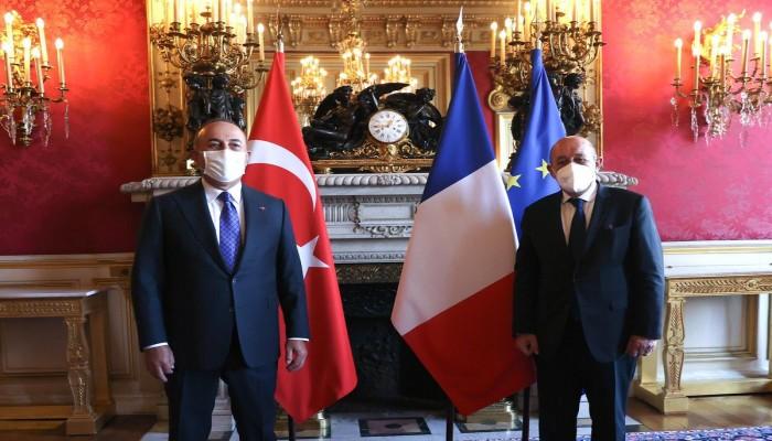 تركيا: خلافاتنا مع فرنسا بشأن ليبيا تراجعت بعد تشكيل الحكومة الجديدة