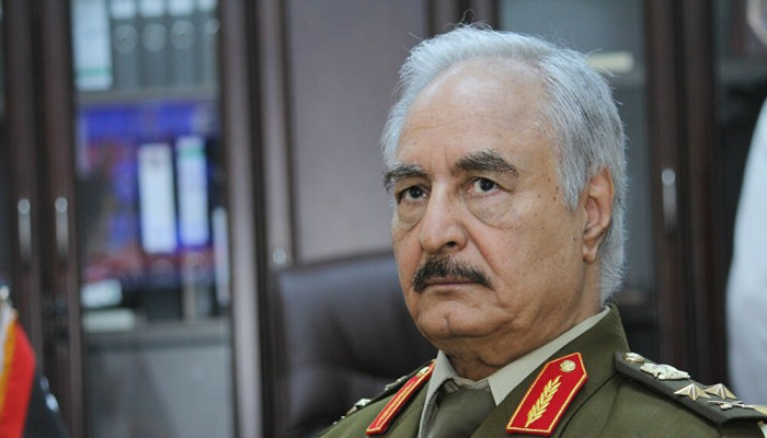 هل حسم حفتر موقفه من الترشح لرئاسة ليبيا؟