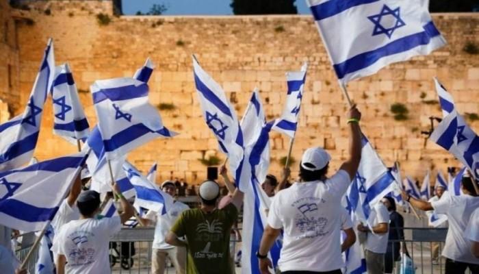 مسيرة الأعلام الإسرائيلية تمر بالحي الإسلامي في القدس