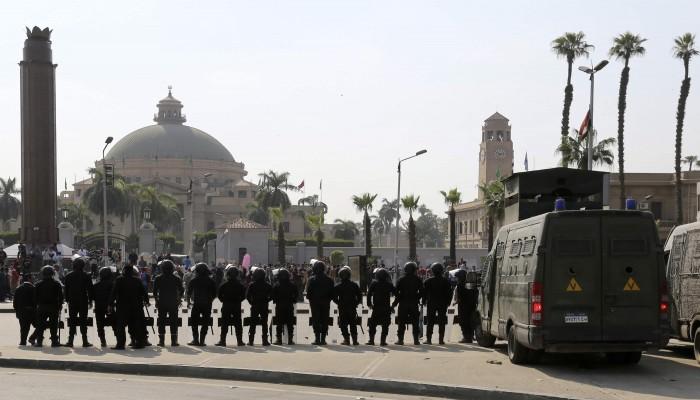 الدولة البوليسية تحكم.. لا حرية أكاديمية في مصر