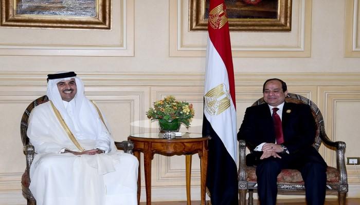 مصر: مسار العلاقة مع قطر يسير في الاتجاه الإيجابي السليم