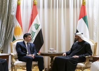 رئيس كردستان العراق يجتمع مع بن زايد بأبوظبي.. وهؤلاء حضروا اللقاء