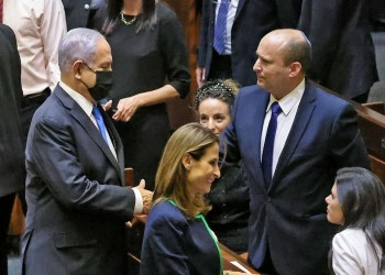 نتنياهو يرفض المشاركة في المراسم الرسمية لتسليم السلطة