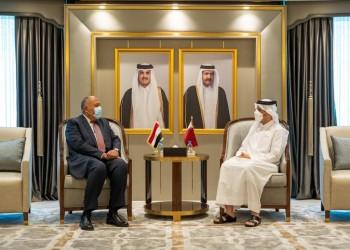 من الدوحة.. وزيرا خارجية قطر ومصر يبحثان التعاون الثنائي