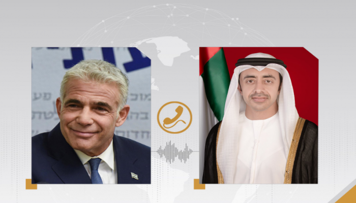 أول اتصال بين وزير الخارجية الإسرائيلي الجديد ونظيره الإماراتي
