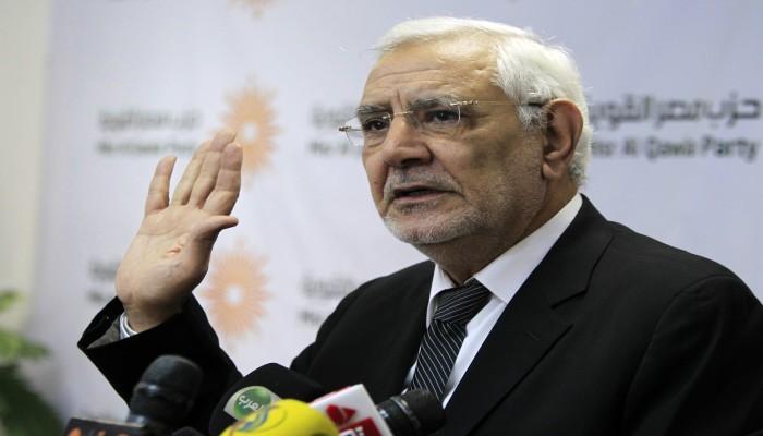 مصر.. إخلاء سبيل عبدالمنعم أبوالفتوح وتجديد حبسه في قضية أخرى